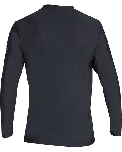 1 Surf Club Loose Fit Long Sleeve Rashguard Black MR61TBSU Billabong
