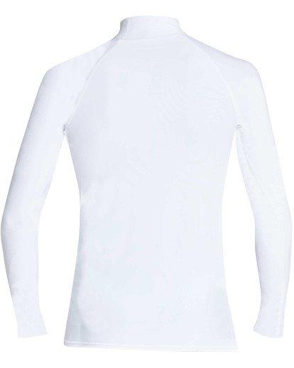 1 Unity Performance Fit Long Sleeve Rashguard White MR61TBUY Billabong
