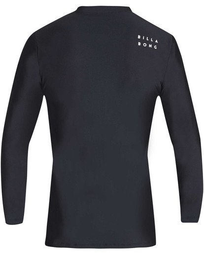 1 All Day Wave Loose Fit Long Sleeve Rashguard Black MR61TBWL Billabong