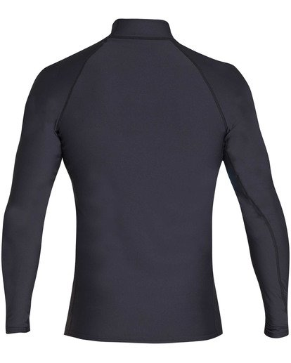1 Union Wave Performance Fit Long Sleeve Rashguard Black MR62TBUN Billabong