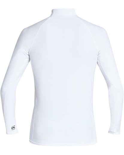 1 Union Wave Performance Fit Long Sleeve Rashguard White MR62TBUN Billabong