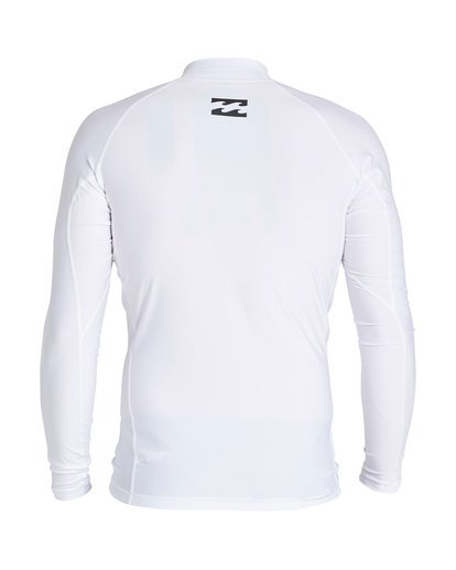 1 Cruiser Performance Fit Short Sleeve Rashguard White MR64SBUE Billabong