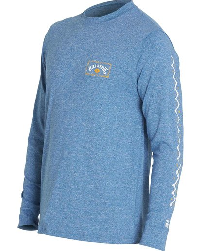3 DREAMSCAPE LF LS Blue MR65PBDS Billabong
