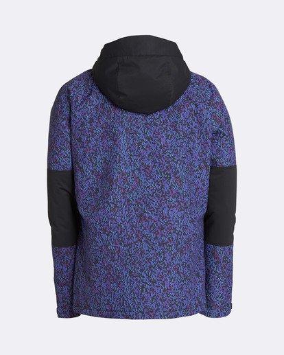 1 Men's All Day Solid Outerwear Jacket Purple MSNJQADI Billabong