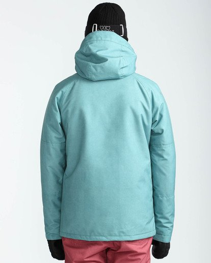6 Men's All Day Solid Outerwear Jacket Blue MSNJQADI Billabong