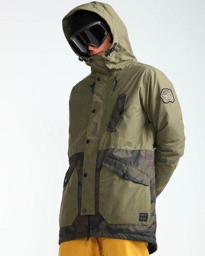 5 Men's Adversary Snow Jacket  MSNJQADV Billabong