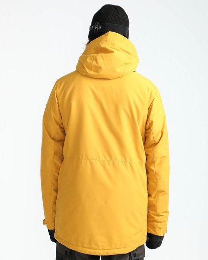 6 Men's Bodeman Snow Jacket Beige MSNJQBOD Billabong