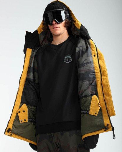 7 Men's Bodeman Snow Jacket Beige MSNJQBOD Billabong