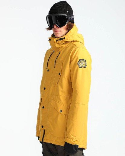 3 Men's Bodeman Snow Jacket Beige MSNJQBOD Billabong