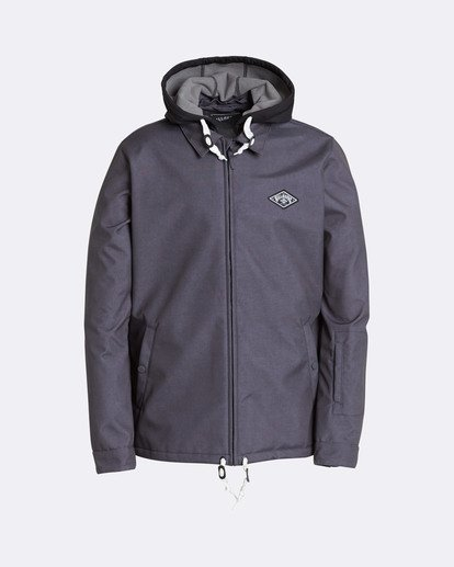 0 Men's Fastplant Outerwear Jacket Black MSNJQFAS Billabong