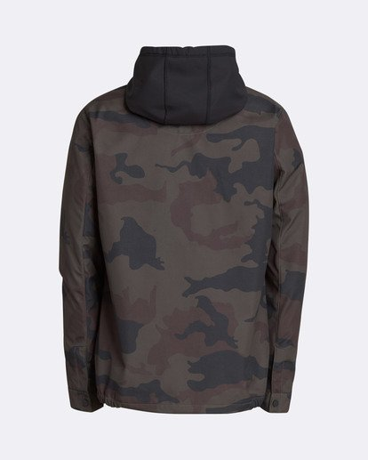 1 Men's Fastplant Outerwear Jacket Camo MSNJQFAS Billabong