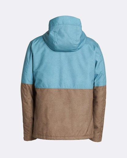 1 Men's Fifty 50 Outerwear Jacket Blue MSNJQFIF Billabong