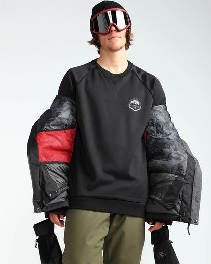 7 Men's Fifty 50 Outerwear Jacket Grey MSNJQFIF Billabong