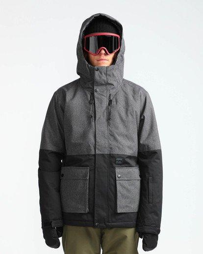 2 Men's Fifty 50 Outerwear Jacket Grey MSNJQFIF Billabong