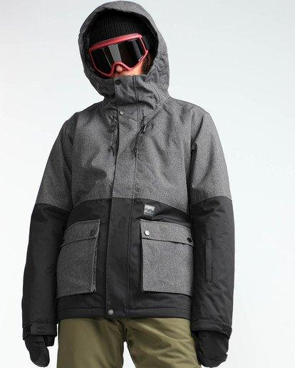 6 Men's Fifty 50 Outerwear Jacket Grey MSNJQFIF Billabong