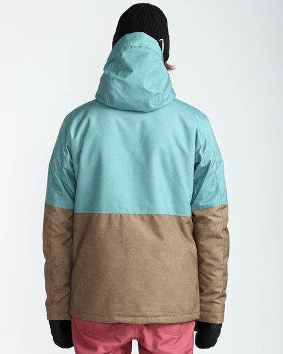 6 Men's Fifty 50 Outerwear Jacket Blue MSNJQFIF Billabong