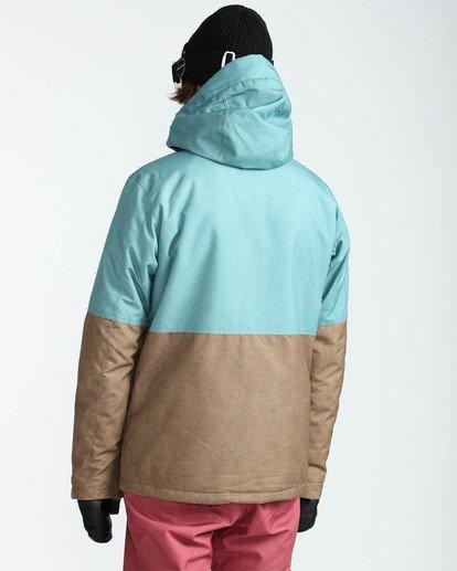 4 Men's Fifty 50 Outerwear Jacket Blue MSNJQFIF Billabong