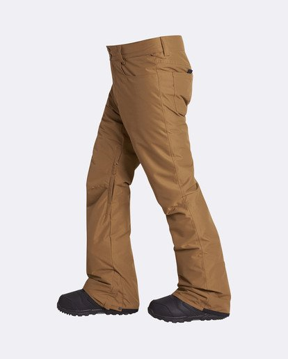 1 Men's Outsider Outerwear Snow Pants Yellow MSNPQOUT Billabong