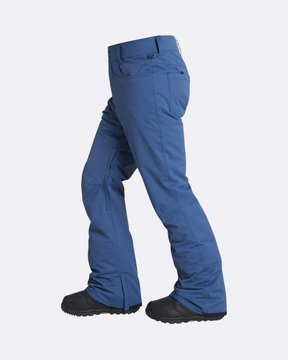 1 Men's Outsider Outerwear Snow Pants Blue MSNPQOUT Billabong