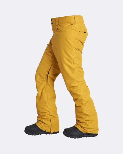 1 Men's Outsider Outerwear Snow Pants Beige MSNPQOUT Billabong