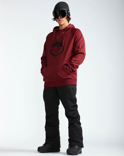7 Men's Outsider Outerwear Snow Pants Black MSNPQOUT Billabong