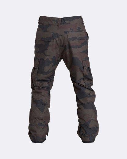 1 Men's Transport Outerwear Snow Pants Green MSNPQTRA Billabong
