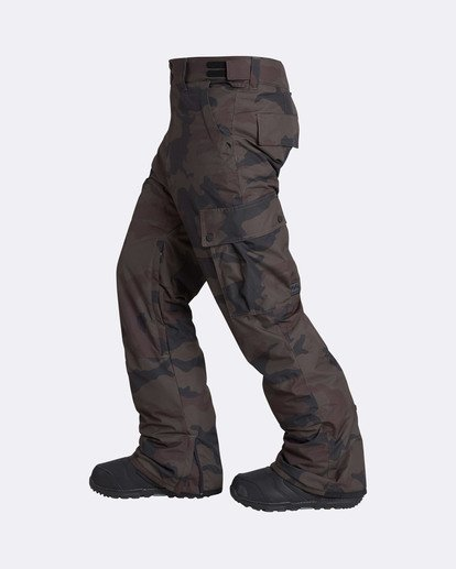 1 Men's Transport Outerwear Snow Pants Camo MSNPQTRA Billabong