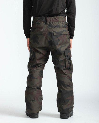 5 Men's Transport Outerwear Snow Pants Green MSNPQTRA Billabong