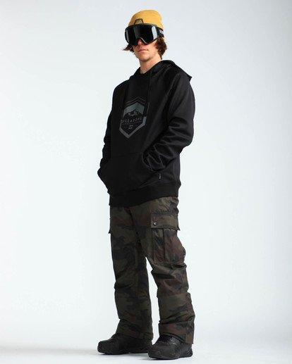 6 Men's Transport Outerwear Snow Pants Green MSNPQTRA Billabong