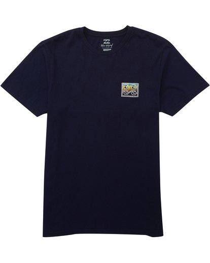0 Crusty Tee Blue MT10PBCR Billabong