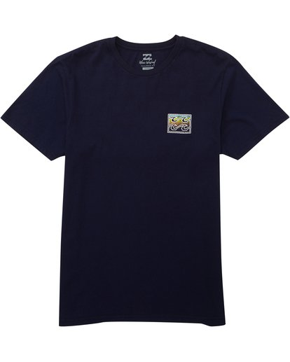 1 Crusty Tee Blue MT10PBCR Billabong