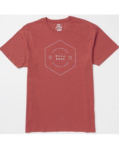 1 Access Pinline Graphic T-Shirt Red MT10SBAC Billabong