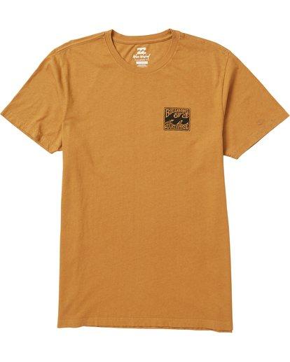 0 Capistrano Graphic T-Shirt Yellow MT10SBCA Billabong