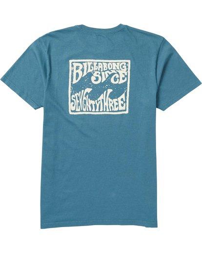 1 Capistrano Graphic T-Shirt Blue MT10SBCA Billabong