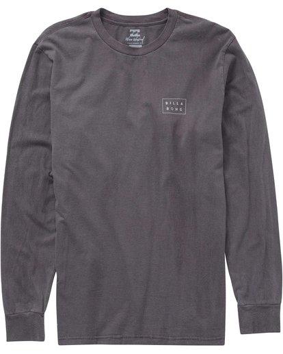 0 Die Cut Long Sleeve Tee Grey MT43MDIE Billabong