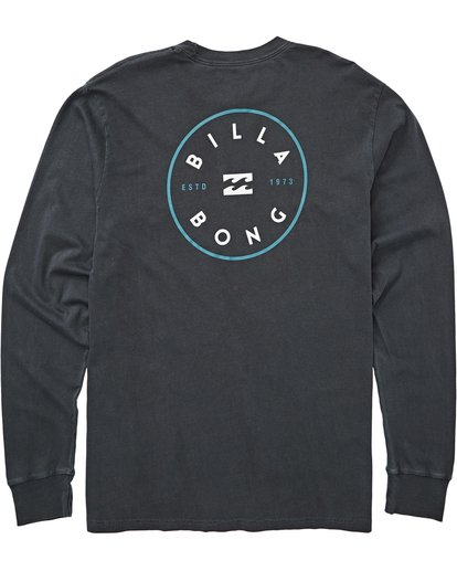 1 Rotor Long Sleeve Tee Grey MT43QBRO Billabong