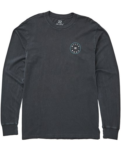0 Rotor Long Sleeve Tee Grey MT43QBRO Billabong