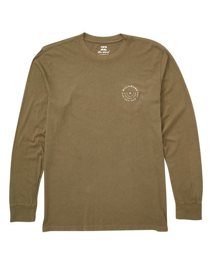 0 Helm Long Sleeve Tee Camo MT43TBHE Billabong