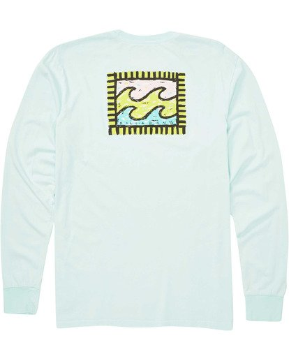 1 Nairobi Long Sleeve Tee Blue MT43TBNA Billabong