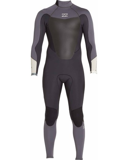0 3/2 Absolute Comp Back Zip Fullsuit  MWFULAB3 Billabong