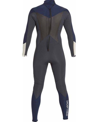 1 3/2 Absolute Comp Back Zip Fullsuit Grey MWFULAB3 Billabong