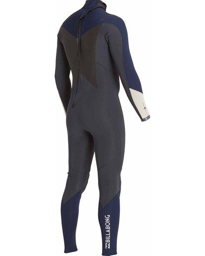 4 3/2 Absolute Comp Back Zip Fullsuit Grey MWFULAB3 Billabong