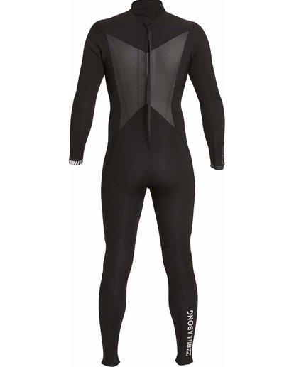 4 5/4 Absolute Comp Back Zip Fullsuit Black MWFULAB5 Billabong