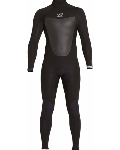 1 5/4 Absolute Comp Back Zip Fullsuit Black MWFULAB5 Billabong