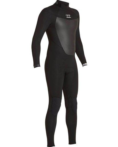 2 5/4 Absolute Comp Back Zip Fullsuit Black MWFULAB5 Billabong