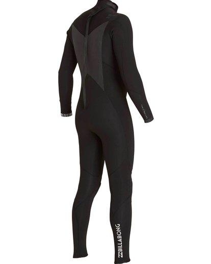 3 5/4 Absolute Comp Back Zip Fullsuit Black MWFULAB5 Billabong