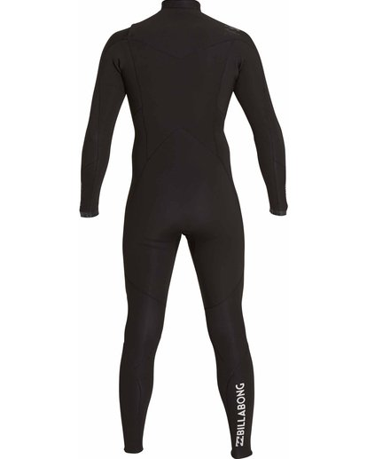2 3/2 Absolute Chest Zip Fullsuit Black MWFULAC3 Billabong