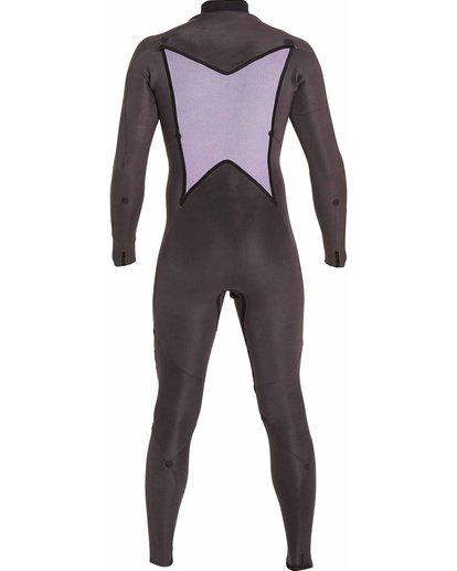 3 3/2 Absolute Chest Zip Fullsuit Black MWFULAC3 Billabong