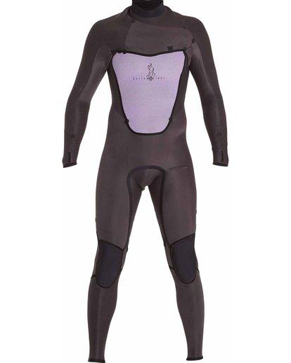 1 3/2 Absolute Chest Zip Fullsuit Black MWFULAC3 Billabong