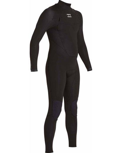 8 3/2 Absolute Chest Zip Fullsuit Black MWFULAC3 Billabong